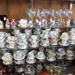 Variety of Tea Cups and Saucer Sets
